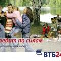 ВТБ-24 потребительский кредит